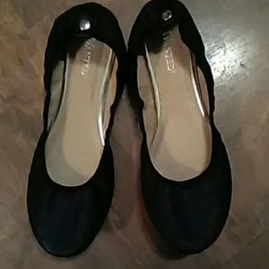"""""""Wanted"""" Baby Doll Flats SZ-6.5"""
